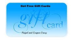 Do you want to get some gift cards for free? Wouldn't that help your Christmas shopping?