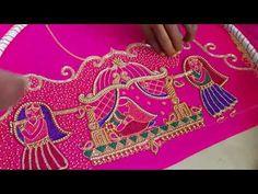 Blouse Designs, Hand Embroidery, Shoulder Bag, Bride, Youtube, Pattern, Wedding Bride, Bridal, The Bride