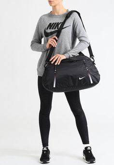 93a6a232 Nike Performance AURALUX CLUB - Sporttas - black/black/white - Zalando.nl