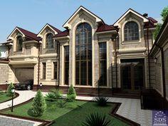 Uzbek house design by SDS PROEKT
