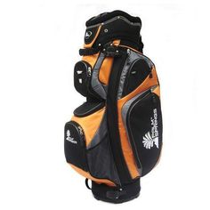 0ed6cd70b6 Palm Springs Golf Orange silver 14 Way Full Length Divider Cart Bag