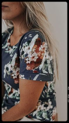 Fair trade and ethical clothes for women. Blue Blossom is one of Kaiko's most loved patterns. It appeared in our Autumn / Winter 2018 collection and was sold out very fast. We get questions on a weekly basis if the Blue Blossom pattern could make a comeback – and now it has! Enjoy! #blueblossom #ethicalbrand #womensfashion #fairtrade www.kaikoclothing.com Ethical Fashion Brands, Ethical Clothing, Fair Trade Clothing, Local Women, Clothing Company, Slow Fashion, Stylish Dresses, Boho Dress, Fashion Outfits