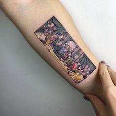 The Last Supper tattoo by Eva Krbdk