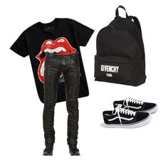 """what"" by sadcheese on Polyvore featuring Hot Topic, J.Crew, Givenchy, men's fashion and menswear"