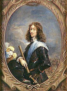 Louis II Prince de Condé - dit le Grand Condé - 1649 - 1686 - Dynastie Maison de Condé - (6 titre de Ducs  dont Duc d'Enghien et Duc de Bourbon) - Seigneur de Chantilly -  Pair de France - Musée Condé - Château de Chantilly