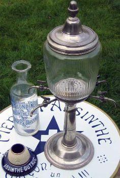"Absinthe Fountain  www.LiquorList.com  ""The Marketplace for Adults with Taste"" @LiquorListcom   #LiquorList"