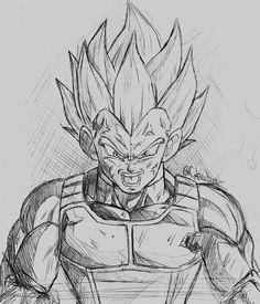 Clique no Pin. Aprenda a desenhar no estilo anime Desenho do Personagem Vegeta .  .  .  #desenhovegeta #vegetadesenho #vegetasayajindesenho #vegetadesenhoalapis  #comodesenharanime #comodesenhar #comodesenharestiloanime #desenharanime #desenharanimes #desenharanimepassoapasso Anime Drawings Sketches, Anime Sketch, Desenhos Clash Royale, Small Dragon Tattoos, Ball Drawing, Dragon Images, Z Arts, Dragon Ball Gt, Estilo Anime