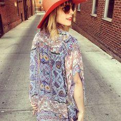 Joetta Kimono #Anthropologie #MyAnthroPhoto