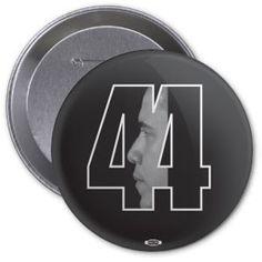 Obama 44th President Button