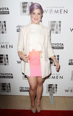 kelly osbourne outfits | Kelly Osbourne rocks a candy coloured outfit on the red carpet for An ...