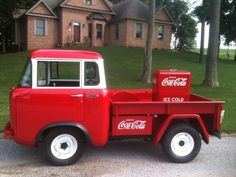 1957 Jeep FC-150 Coke delivery truck.