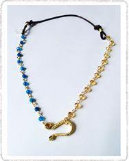 Cho187 Collar corto ancla