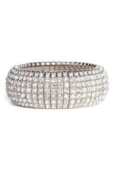 Free shipping and returns on Tasha Crystal Stretch Bracelet at Nordstrom.com. Allover crystals glam up the contours of a stretchy metal bracelet.