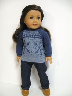 American Girl Doll Clothes  Chill Chasers  by 123MULBERRYSTREET, $26.00