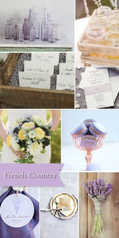 Style Board: French Country Wedding Ideas