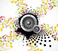 notas musicais coloridas - Pesquisa Google