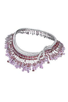diamond, ruby and pink sapphire necklace by Breguet....
