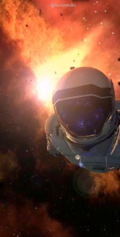 LIVE WALLPAPER   SPACE   ASTRONAUT
