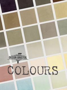 Moroccan tadelakt plaster - lovely range of colours. Polished Plaster, Tadelakt, Bristol, Moroccan, Range, Colours, Bathroom, Home, Decor