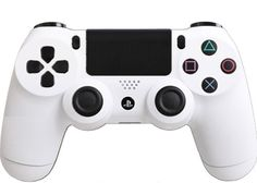 Matte-White-Custom-PS4-Controller-Brand-New-Controller