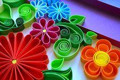 #quilling #quilled #paper #papercraft #flowers #handmade #artworks_artist #art #artwork #colored