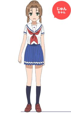 日置 順子 | キャラクター | TVアニメ「ハイスクール・フリート」公式サイト Student Cartoon, Anime Art Girl, Character Design Inspiration, Anime Stuff, Hair Style, Disney Characters, Fictional Characters, High School, Joker