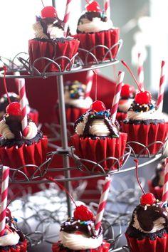 Chocolae Fudge Sundae Cupcakes by Angela Roberts
