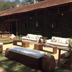 Lounge area externa