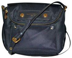 3beed2e2caf9 Marc Jacobs New Natasha Black Leather   Nylon Cross Body Bag - Tradesy  Cross Body