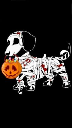 Fall Wallpaper Dog Weenie 135 Best Halloween Wallpapers Images On Pinterest