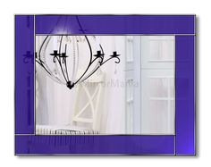 Vogue Original Handcrafted Coloured Glass Range of Mirrors – Ocean Blue – Bespoke Mirrors Blue Mirrors, Modern Mirrors, India Home Decor, Overmantle Mirror, Handmade Mirrors, Art Deco Mirror, Fireplace Wall, Beautiful Bathrooms, Coloured Glass