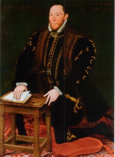 Portrait of Thomas Percy, 7th Earl of Northumberland. Percy was an English conspirator during the reign of Queen Elizabeth I, who sought the release of Mary, Queen of Scots, and the free exercise of the Roman Catholic religion. He was beheaded in 1572, in the marketplace at York.