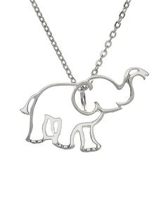 Sterling silver elephant - half off only today!