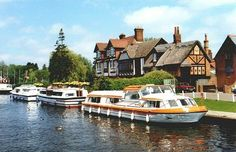 The Swan Inn, Horning, Norfolk Norfolk Beach, Norfolk Coast, Boating Holidays, Canal Holidays, Beautiful Castles, Beautiful Places, The Swan Inn, Norfolk Broads, Norwich Norfolk