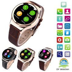 96.88$  Buy now - http://aliw2k.worldwells.pw/go.php?t=32739124928 - Smart Watch T3 Clock With Sim Card Slot Push Message Bluetooth Connectivity Android Phone Better Than DZ09 GT08 Smartwatch 96.88$