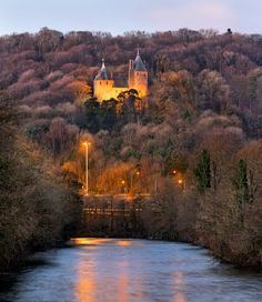 Castle Coch Wales the fairy castle in the tree's on the way to Barry x