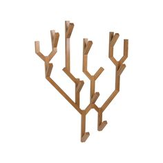 These hooks will make a strong statement in any space, they will look great with or without coats and hats.