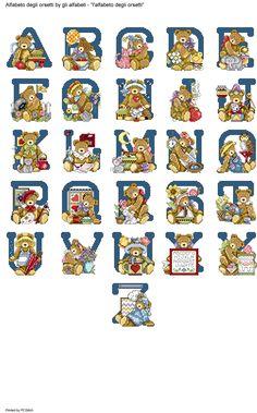 Alfabeto degli orsetti
