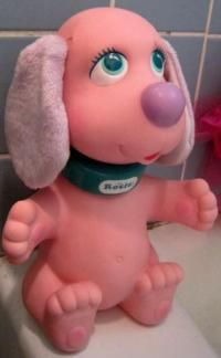 Rub a doggy... me and my sister used to have these and I found them again in Value Village but think I gave them away again :(
