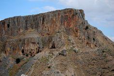 Bill, Bryan, and Troy in Israel - 2013: Tuesday, July 2, Jesus' Backyard.  Cliffs of Arbel.