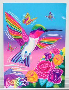 Lisa Frank - Dashly the Hummingbird