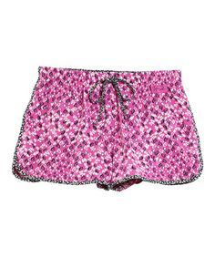 Take a look at this Fuchsia Hearts Slumber Pajama Shorts - Women by Life is good® on #zulily today!