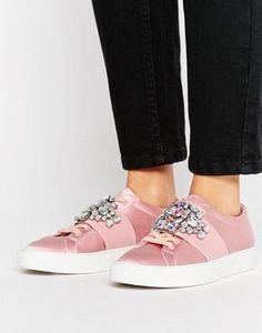 ASOS DECODE Embellished Sneakers