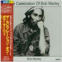 Japanese Album cover for Bob Marley record
