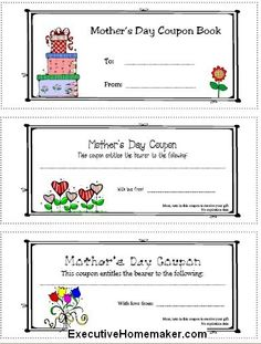 Mother's Day Crafts with the Kids - Blissfully Domestic