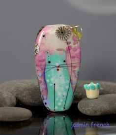 lampwork beads by jasmin french