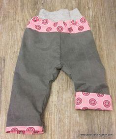 RAS als Mitwachshose in Jeans
