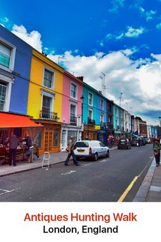 Whether or not you have something in mind to buy, a visit to London's antique shops and stalls is always a fascinating adventure. One of the most exciting places to be is Portobello Road, the world's largest antique market with every kind of antique and collectible under the sun.