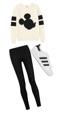 """Untitled #86"" by julia3smith on Polyvore featuring Uniqlo, Donna Karan and adidas Originals"