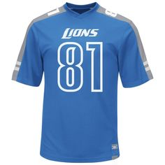 NFL Jersey's Women's Detroit Lions Calvin Johnson Nike Light Blue Game Jersey